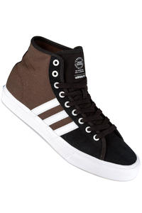 adidas Skateboarding Matchcourt High RX Schuh (black white brown)