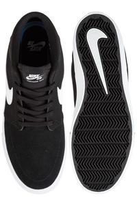 Nike SB Solarsoft Portmore II Mid Schoen (black white)