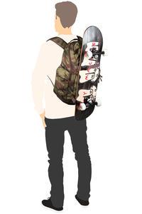 Burton Kilo Backpack 27L (brustroke camo print)