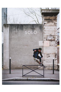 SOLO Skateboard #17 Magazin