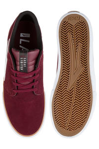Lakai Griffin Suede Shoes (burgundy)