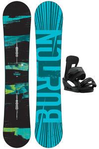 Burton Ripcord 158cm Wide / Freestyle L Snowboardset 2017/18