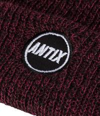 Antix Orbit Beanie (heather burgundy)