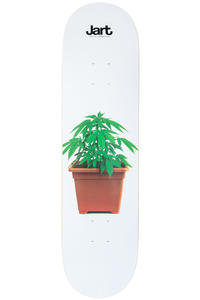 "Jart Skateboards Weed 8.125"" Planche Skate (white)"