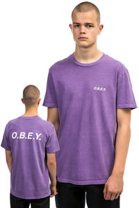 Obey Basic T-Shirt (dusty purple)