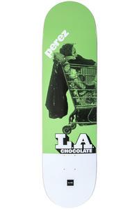 "Chocolate Perez LA Express 8.375"" Deck (green)"