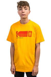 Girl x Kodak Heritage Camiseta (gold)