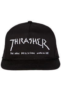 Thrasher New Religion Snapback Cap (black)