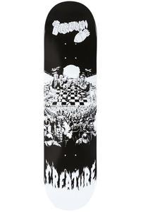"""Creature Partanen Checkerboard 8.3"""" Deck (black white)"""
