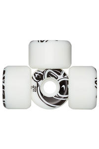 Pig 3D Conical 52mm Wheels (white) 4er Pack
