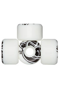 Pig 3D Conical 54mm Wiel (white) 4 Pack