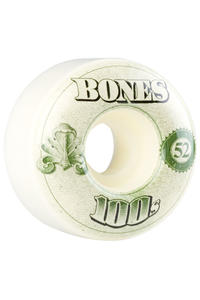 Bones 100's-OG #16 52mm Ruote (white) 4er Pack