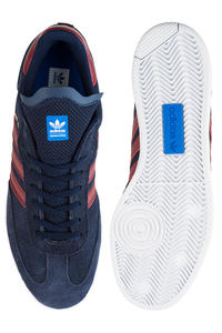 adidas Skateboarding Samba ADV Shoes (navy core burgundy white)