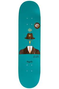 """Magenta Jimmy Magritte 8"""" Deck (blue)"""