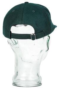 Polar Skateboards Wool 6 Panel Unstructured Cap (green)