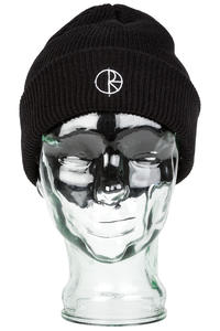 Polar Skateboards Stroke Logo Beanie (black)