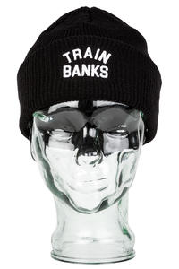 Polar Skateboards Train Banks Beanie (black)