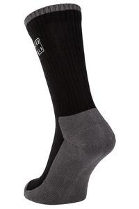 SK8DLX Square Chaussettes US 6-13 (black)