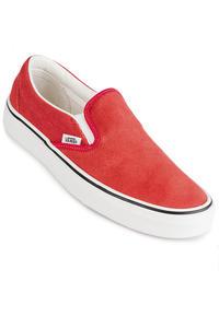 Vans Classic Slip-On Zapatilla women (hibiscus red true white)