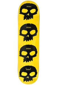 "Zero Team Multi Skull 7.75"" Deck (black yellow)"