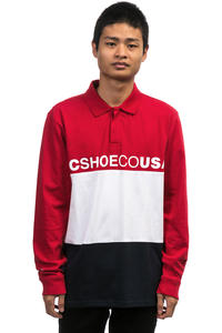 DC Stewardson Polo-Shirt (tango red)