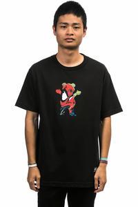 Grizzly x Spiderman T-Shirt (black)