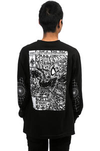 Grizzly x Spiderman Longsleeve (vintage black)