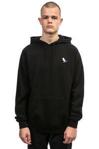 Cleptomanicx Embro Gull Hoodie (black)