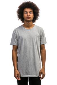Cleptomanicx Ligull Long 2 T-Shirt (heather grey)