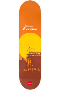 "Chocolate Anderson Sun 8.125"" Deck  (orange)"