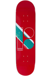 "Plan B Joslin Geometrics 8.375"" Planche Skate (red)"