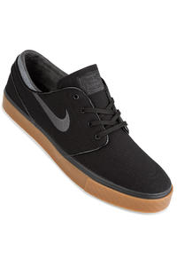 Nike SB Zoom Stefan Janoski Canvas Shoes (black anthracite gum)