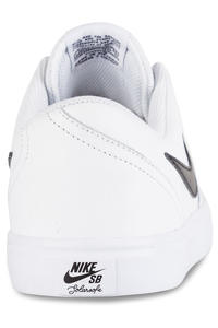 Nike SB Check Solarsoft Leather Shoes (white black)