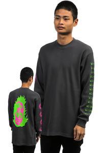 Welcome Creepers Heavyweight Thermal Sweatshirt (grey)