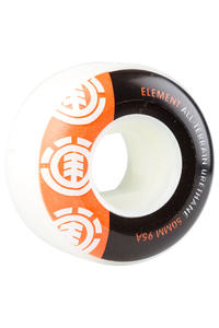 Element Section 50mm Wheels (orange black) 4er Pack