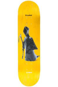 """Krooked Cromer Stachue 8.18"""" Planche Skate (yellow)"""
