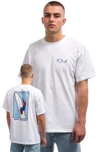 Polar Skateboards Just Minding My Own Business T-Shirt (white)