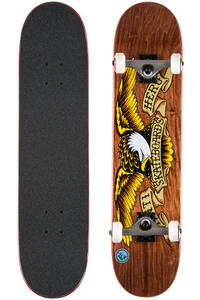 """Anti Hero Stained Eagle 7.75"""" Complete-Board (brown)"""
