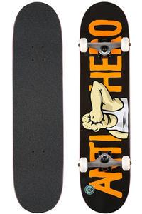"Anti Hero Face 8"" Complete-Board (black orange)"