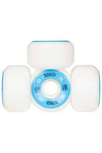 Bones 100's-OG #1 V5 53mm Wheels (white blue) 4er Pack