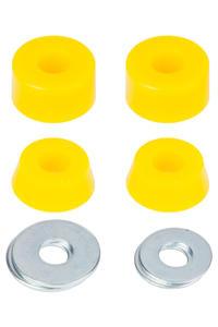 Polster 85A Extra Soft Lenkgummi (yellow) 2er Pack