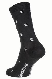 Lousy Livin Underwear Mini Houses Socken US 6-12 (grey)