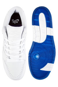 ... Nike SB Air Force II Low Kevin Bradley QS Shoes (white white blue void)  ... 1defe712a
