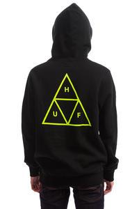 HUF Triple Triangle Hoodie (black gold)