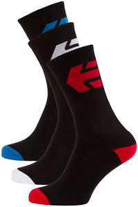 Etnies Direct 3 Chaussettes US 9-12 (black)