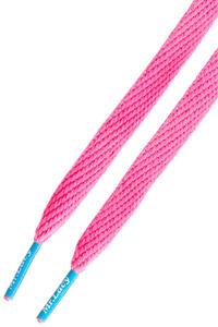 Mr. Lacy Flatties Laces (neon pink mellow blue)