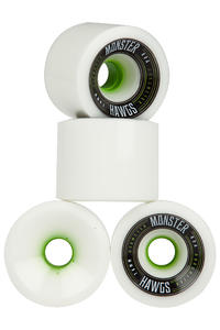 Hawgs Monster 76mm 80A Rollen (white) 4er Pack