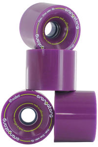 Orangatang 4President 70mm 83A Roue (purple) 4 Pack