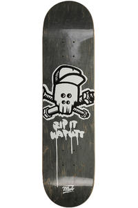 "MOB Skateboards Metal Skull 7.75"" Tabla (black veneer)"