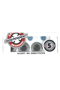 Independent ABEC 5 Bearings inkl. Spacer (silver)